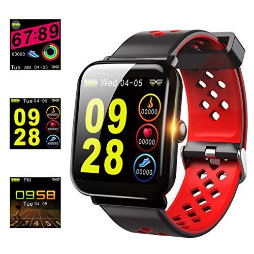 【2019年最新版】スマートブレスレット IP68防水 活動量計 歩数計 GPS スマートウォッチ 血圧計 心拍計 睡...
