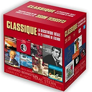Classique : la discothèque idéale en 25 albums de légende (B0046VRR5A) | Amazon price tracker / tracking, Amazon price history charts, Amazon price watches, Amazon price drop alerts