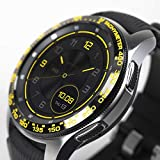 Ringke Bezel Styling for Galaxy Watch 46mm / Galaxy Gear S3 Frontier & Classic Bezel Ring Adhesive Cover Anti Scratch Stainless Steel Protection Tachymeter [Stainless] for Watch Accessory GW-46-04