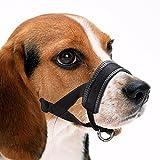 Perro hocico perro formación amigable hocico ajuste fácil para perros...
