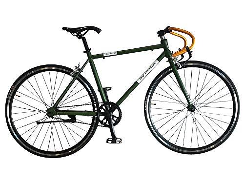 Helliot Bikes Harlem 02, Bicicletta Unisex-Adult, Verde, Taglia Unica
