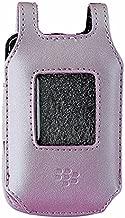 BlackBerry Full Leather Case for BlackBerry Pearl Flip 8220 / 8230 - Pink