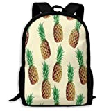 TTmom Cartables,Sac à Dos Loisir, Backpack Pineapple Artist Zipper School Bookbag...