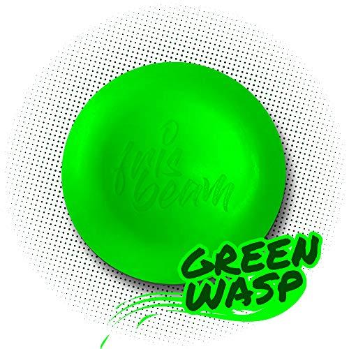 Frisbeam. El Frisbee de Bolsillo 100% Made in France - Disco Volador - Juego de Playa - Discos Deportivos - Ultra Light Discraft (Verde) ⭐