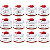 GasOne Camping Fuel Blend Isobutane Fuel Canister 100g (12 Pack)
