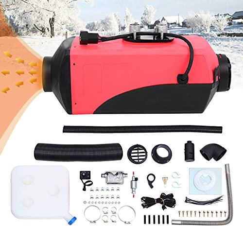 Ambienceo 12 V 2 KW/3 KW aria Diesel riscaldatore parcheggio serbatoio 10 L con telecomando display LCD per camion, barca, rimorchio, auto da turismo, camper, roulotte