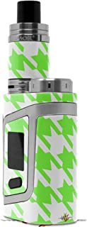 Skin Decal Wraps for Smok AL85 Alien Baby Houndstooth Neon Lime Green Vape NOT Included