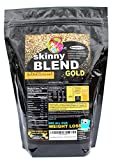 Skinny Blend Gold! Best Tasting Protein Shake for Women, Delicious Smoothie- Weight Loss -Low Carb Diet Supplement - Weight Control - (30 Servings, Salted Caramel)