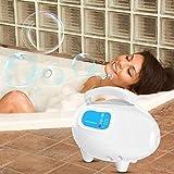 Nannday Bubble Bath Tub Massager, Waterproof Anti-Slip Salon Spa Mat with Air Hose(US)