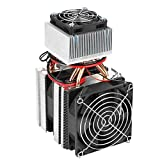 KUIDAMOS Halbleiterkühlung Kühlgerät Thermoelektrischer Kühler, 12V DIY Mini-Klimaanlage Kühlschrank