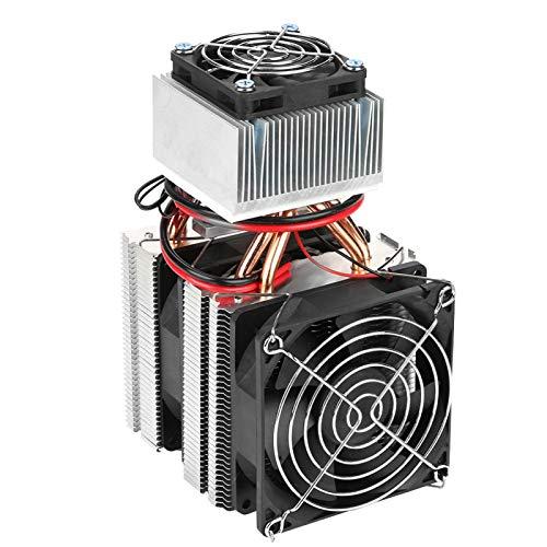 Enfriador de semiconductores-Refrigeración de semiconductores Dispositivo de refrigeración Enfriador termoeléctrico Mini nevera DIY