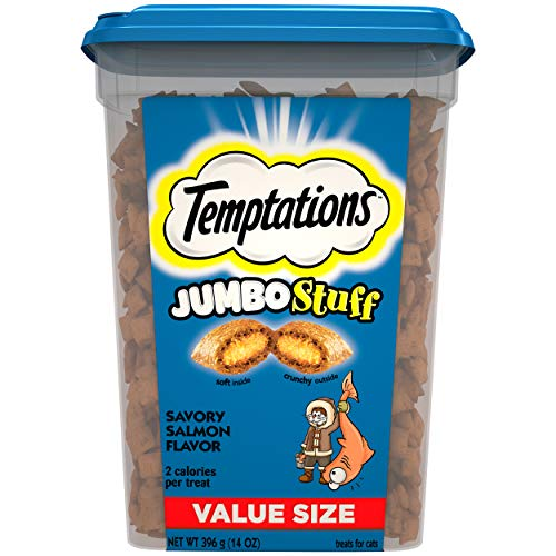 Temptations Jumbo Stuff Cat Treats Now $4.83