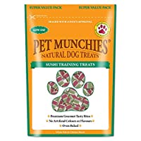 Pet Munchies 100% Natural premium gourmet training treats, made using only human grade fish and chicken breast meat, delicately roasted to perfection. Free from artificial additives and preservatives these treats are full of natural goodness. Low in ...