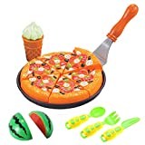 Liberty Imports Pretend Play Cooking Cutting Foods Set - Kitchen Fun Cuttable Food Toys - Early...