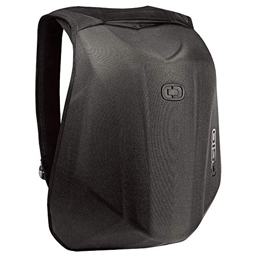 OGIO 123008.36 No Drag Mach 1 Motorcycle Backpack - Stealth Black, 19' H x 12.5' W x 6.5' D