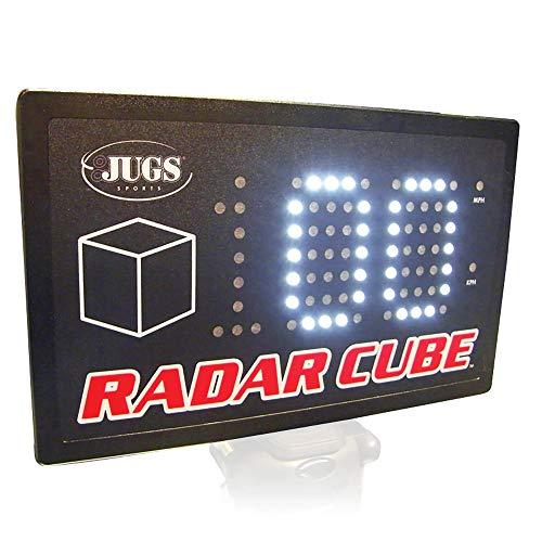Jugs Radar Cube — Sports Radar. Clock speeds from 32 mph–100+ mph. Large Bright 3'' LED Numbers....
