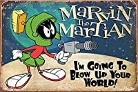 火星人 メタルポスタレトロなポスタ安全標識壁パネル ティンサイン注意看板壁掛けプレート警告サイン絵図ショップ食料品ショッピングモールパーキングバークラブカフェレストラントイレ公共の場ギフト