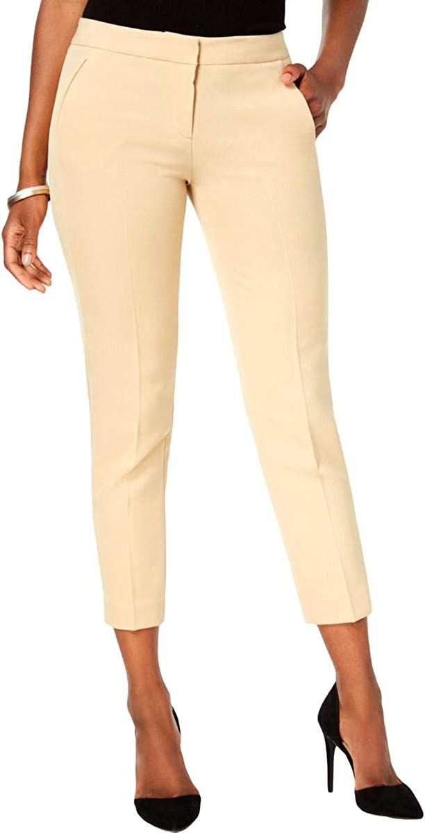 Kasper Womens Mid-Rise Business Casual Cropped Pants