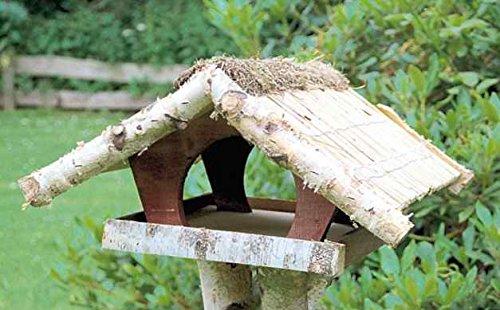 """Vogelfutterhaus mit Reetdach, """"Ferienhaus groß"""" mit Heidefirst - 2"""