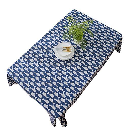 Xingkee Manteles Mesa Rectangular Estilo Impermeable Mantel para Salón Comedor Cocina como la Imagen10 60 * 60 cm