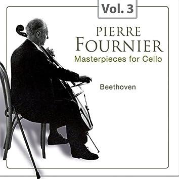 Masterpieces for Cello, Vol. 3