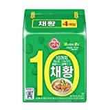 [Ottogi] Ramen vegetales (paquete de 4) / comida coreana / ramen coreano / Ramen vegano (envío directo al extranjero)
