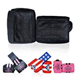 Bear Grips Wrist Wraps. Superior Wrist Wraps for Weightlifting, Ultimate Lifting Wrist Wraps, Men & Women, Available in 2-Band or Extra Strength, Two Wrist Wrap Per Pair, Black, Size 12' Length