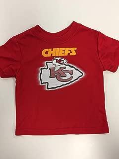 NFL Kansas City Chiefs Baby-Boys Short Sleeve Solid Logo Tee Shirt, Team Color, 12M