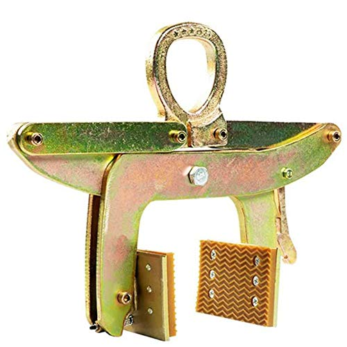 WM Abrazaderas de Elevación, Abrazadera Colgante Especial para Losa de Mármol para Levantar y Transportar un Accesorio de Piedra Colgante,2