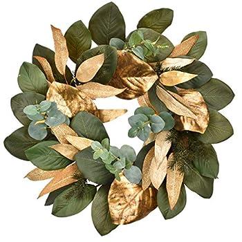 Best magnolia christmas wreaths Reviews