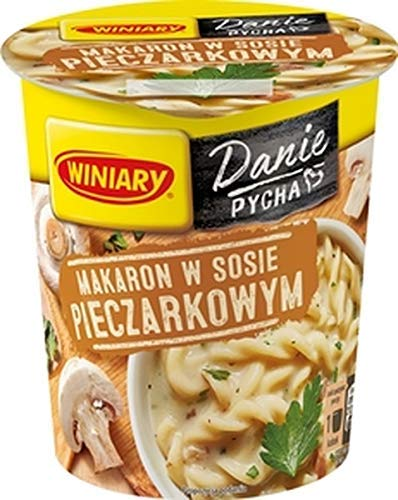 GroßhandelPL Winiary Pasta Nudel Snack Nudeln in Pilzsauce 16er Pack (16x53g)