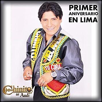 Primer Aniversario en Lima