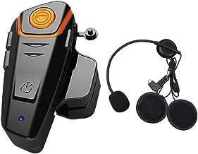 Ballylelly FDC VB 500M Motocicleta BT Interphone Moto Casco Intercomunicador inal/ámbrico FM Headset Mini Interphone port/átil