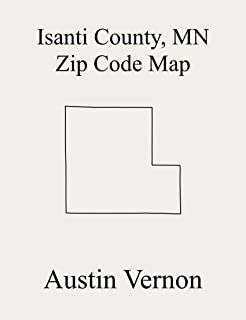 Isanti County, Minnesota Zip Code Map: Includes Cambridge, Wyanett, Stanchfield, Athens, Braham, Dalbo, Isanti, Maple Ridge, Oxford, Springvale, St. Francis, ... Bradford, North Branch, Spencer Brook, Sta