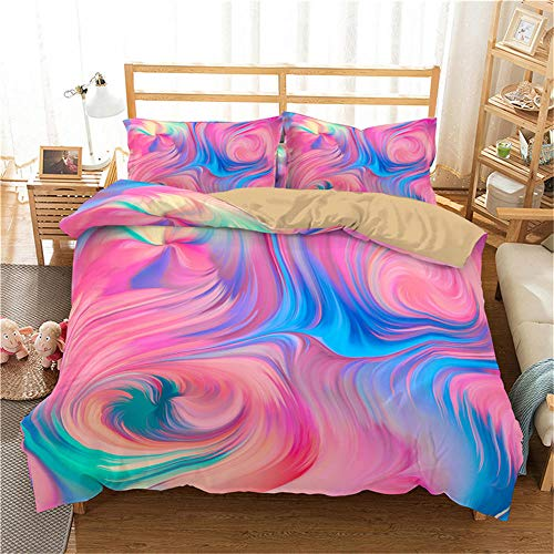 NNDHYS Bedding Set Colorful Home textiles Comforter Bedding Set With Pillowcase Duvet Cover Set Single Twin Full Size5 duvet cover