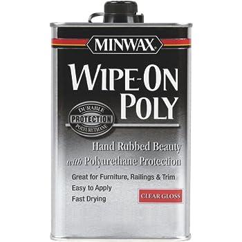 Minwax Gloss Wipe-On Poly,1 U.S. QT