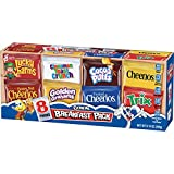 Breakfast Pack Cereal Multi-Pack With 8 Varieties, 9.14 oz