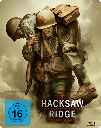Hacksaw Ridge - Die Entscheidung Steelbook (exklusiv bei Amazon.de) [Blu-ray] [Limited Edition]