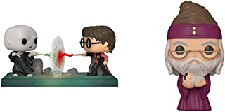 Funko Pop! Moment: Harry Potter - Harry VS Voldemort, Multicolor & Pop! Harry Potter: Harry Potter - Dumbledore with Baby ...