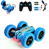Jellydog Toy Stunt Rc Car, Remote Control Car, 360 Degree Flips Double Sided Rotating Race Car, High...