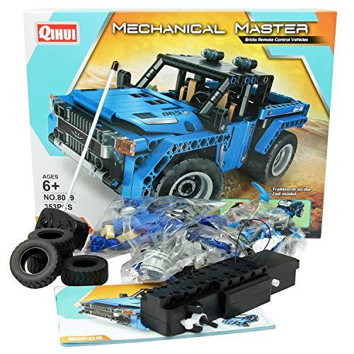 FunTomia QIHUI 2w1 Buggy - zdalnie sterowana technika auto / wózek - 353 klocki zaciskowe - nr 8019