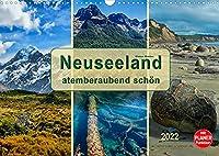 Neuseeland - atemberaubend schoen (Wandkalender 2022 DIN A3 quer): Neuseeland, ein beindruckendes Land, in dem fast jede Klimazone zu finden ist. (Geburtstagskalender, 14 Seiten )