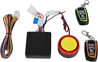 Zyyini Motorcycle Anti-Theft Alarm System, 125dB 12V Compact Electric Bike Security Alarm System with 2 Remote Control, Waterproof, 5 Sensitivity Levels Adjustable