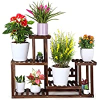 Foldify Indoor Outdoor Multiple Pine Wood Plant Stand