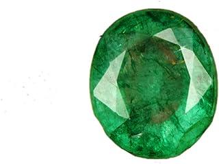 Esmeralda verde de grado superior de 5,20 quilates, esmeralda natural, esmeralda suelta esmeralda de corte ovalado