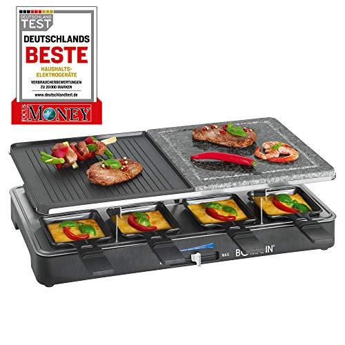 Bomann RG 2279 CB 2IN1 Raclette, Kunststoff