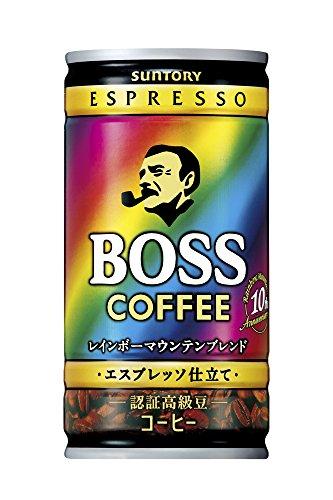 サントリー ボス 贅沢微糖 185g 1ケース(30本)