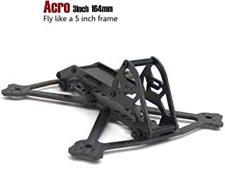 Acro 164mm 3inch Frame kit RC FPV Carbon Fiber Light Weight Racing Quadcopter Drone