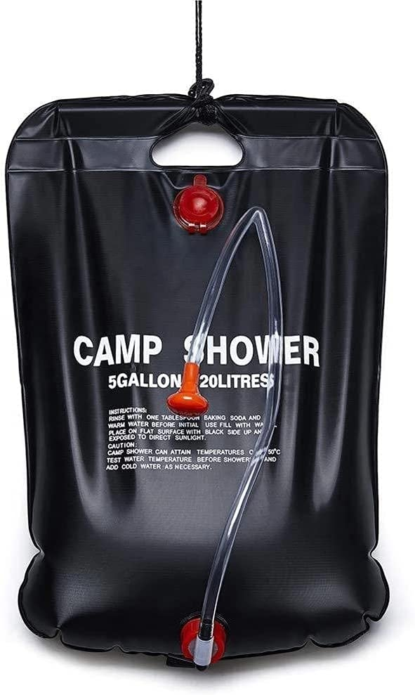 Spring new work MonTely Shower Bag for Camping 5 Solar 20L a 5% OFF Portable Gallon