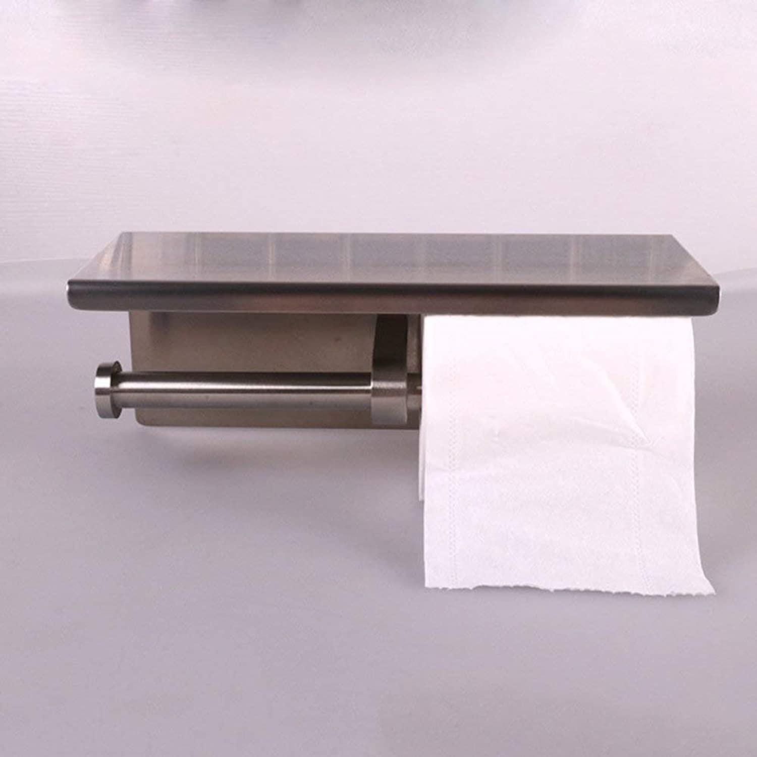 Toilet Paper in The Stainless Steel, Storage containers, Bathroom Mirror Double use of The Toilet Paper, 250mm100mm100mm
